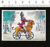 Célérifère De 1795 / Vélo Bicyclette Ancienne Cycliste Cyclisme Cycle Vélocipède Lion Animal  IM51P4-1 - Sin Clasificación