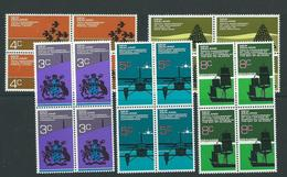 New Zealand Blocks Mnh Anniversaries  Set Sg972 - Blocks & Sheetlets