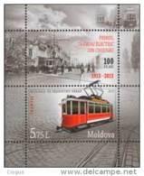 Moldova Moldawien 2013 MNH ** Mi. Nr. 852 Bl.65 M - Tramways