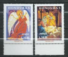 Honduras 2003 Airmail - Christmas.Navidad.Angel Holy Family.MNH - Honduras