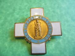Insigne Religieux De Pèlerinage/ Notre Dame De Chartres/Chobillon /début 20éme Siècle      CAN247 - Religion & Esotérisme