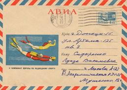 RUSSIA - Intero Postale - SUB - SUBACQUEO