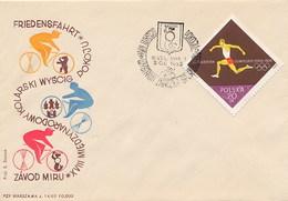 POLSKA - CYCLE - CICLISMO - WYSTAWA ZNAOZKA  1955 - Ciclismo