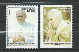 Honduras 2005 Airmail - Pope John Paul II Commemoration.MNH - Honduras