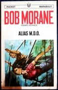 Bob Morane  - Le Cratère Des Immortels  - Henri Vernes - Pocket Marabout  N° 24 - Books, Magazines, Comics