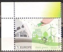 Belgique Belgium.  2016 , EUROPA CEPT - Think Green.  MNH ** - Europa-CEPT