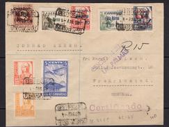 España 1938. Canarias. Carta De Las Palmas A Fredrikstad. Censura. - Marcas De Censura Nacional