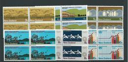 New Zealand Mnh Sg997 Commemorations Set Blks 4 - Blocks & Sheetlets