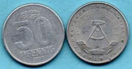 ALLEMAGNE EST / DDR / RDA  50 Pfennig  1958 A   KM#12.1 - [ 6] 1949-1990 : GDR - German Dem. Rep.