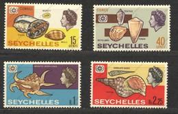Seychelles, Yvert 229/232, Scott 237/240, SG 242/245, MNH - Seychellen (...-1976)