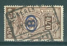 """BELGIE - OBP Nr TR 219  - Cachet  """"LOKEREN Nr 3"""" - (ref. 11.595) - Chemins De Fer"""