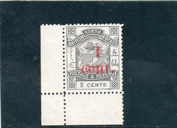 BORNEO DU NORD 1892-3 SANS GOMME - Bornéo Du Nord (...-1963)