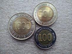 Ecuador 100 - 1000 Sucres   1997   UNC - Equateur