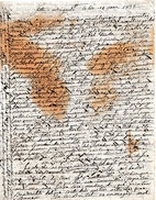 14 Jane 1832 - FÊTE à BRIGNOLES (83)  - Lettre (en Provençal ?? Ou En Catalan ??) à Déchiffrer - Documents Historiques