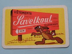 Vêtements SAVELKOUL Klederen / JOKER ( Details - Zie Foto´s Voor En Achter ) !! - Cartes à Jouer Classiques