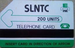 Sierra Leone Phonecard 200 Units First Issue