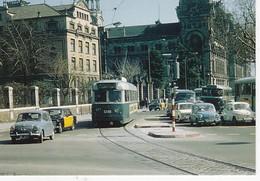 CPM TRAMVIES DE BARCELONA, N° 884 EUROFER-AMICS DEL FERROCARRIL - Strassenbahnen