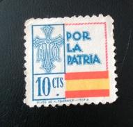 ESPAÑA GUERRA CIVIL POR LA PATRIA (0) - Verschlussmarken Bürgerkrieg