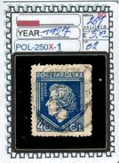 POLAND:COMMEMORATIVE-SINGLE (POL-250X-1 (02) - 1919-1939 Republik