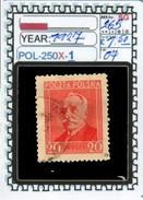 POLAND:COMMEMORATIVE-SINGLE (POL-250X-1 (04) - 1919-1939 Republik