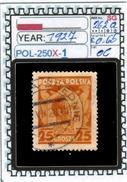 POLAND:COMMEMORATIVE-SINGLE (POL-250X-1 (06) - 1919-1939 Republik