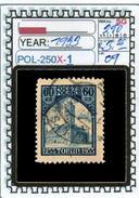 POLAND:COMMEMORATIVE-SINGLE (POL-250X-1 (09) - 1919-1939 Republik