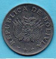 R240/ BOLIVIA / BOLIVIE  1  Boliviano 1987 - Bolivie