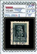 POLAND:COMMEMORATIVE-SINGLE (POL-250X-1 (11) - 1919-1939 Republik