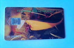 Madagascar Phonecard 25 Units Shell