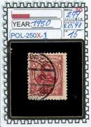 POLAND:COMMEMORATIVE-SINGLE (POL-250X-1 (15) - 1919-1939 Republik
