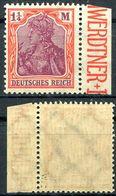 Deutsches Reich Michel-Nr. 198 Bogenrand Postfrisch - Geprüft - Ungebraucht