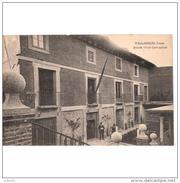 VLLDLTPA3447CPA-LFTM6607TCES.Tarjeta Postal DE VALLADOLID.Edificio Y CASA DEL ESCRITOR  CERVANTES En VALLADOLID. - Escritores