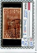 POLAND:COMMEMORATIVE-SINGLE (POL-250X-1 (25) - 1919-1939 Republik
