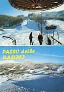 PASSO DELLE RADICI Alt. Mt. 1528 - Impianti SCKILIFT E Piste Con Attrezzature Per Gare - Italia