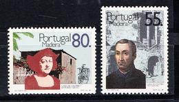 PORTUGAL-MADEIRA 1988.CASAS DE COLOMBO NA  MADEIRA  AFINSA Nº 1847/1848 NOVO SEM CHARNEIRA.SES521GRANDE - 1910-... República