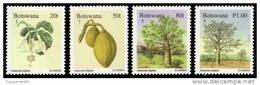 (162) Botswana  1996  Plants / Flora / Christmas / Noel / Trees / Arbres / Bäume ** / Mnh  Michel 615-18 - Botswana (1966-...)