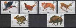 Bulgaria 1993. Wild Animals / Birds Nice Set MNH (**) Michel: 4083-4088 / 3.50 EUR - Neufs