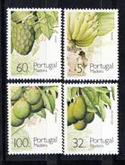 PORTUGAL-MADEIRA 1990. FRUTOS SUB-TROPICAIS  DA  MADEIRA  AFINSA Nº 1947/1950 NOVO SEM CHARNEIRA.SES521GRANDE - 1910-... República