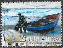 Afrique Du Sud  - Aérien - La Pêche Artisanale - Y&T N° 195 - Oblitéré - Poste Aérienne