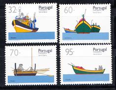 PORTUGAL-MADEIRA 1990. BARCOS TIPICOS DA MADEIRA  AFINSA Nº 1957/1960 NOVO SEM CHARNEIRA.SES521GRANDE - 1910-... República