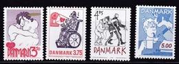 1992, Dänemark 1039/42, Comics. MNH ** - Denmark