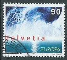 2001 SVIZZERA USATO EUROPA - CZ12-4 - Usati