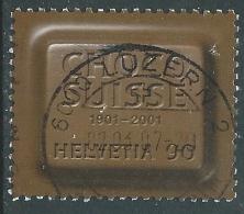 2001 SVIZZERA USATO PRODUTTORI DI CIOCCOLATO - CZ12-10 - Usati