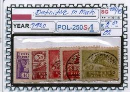 POLAND: CLASSIC SERIE(S) (POL-250S-1 (02) - 1919-1939 Republik