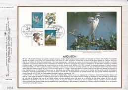 FRANCE 1995- FEUILLET CEF N°1207 -  OISEAUX - J.J. AUDUBON - OBLITERATION 1er JOUR 25.02.1995 PARIS - Uccelli
