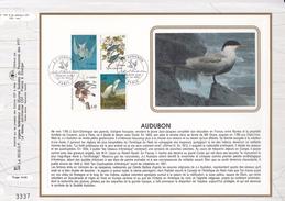 FRANCE 1995- FEUILLET CEF N°1207 -  OISEAUX - J.J. AUDUBON - OBLITERATION 1er JOUR 25.02.1995 PARIS - Vogels