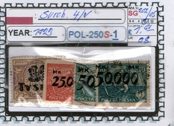 POLAND: CLASSIC SERIE(S) (POL-250S-1 (08) - 1919-1939 Republik