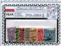 POLAND: CLASSIC SERIE(S) (POL-250S-1 (12) - 1919-1939 Republik