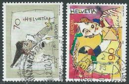 2002 SVIZZERA USATO EUROPA - CZ11-9 - Usati