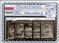 POLAND: CLASSIC SERIE(S) (POL-250S-1 (15) - 1919-1939 Republik